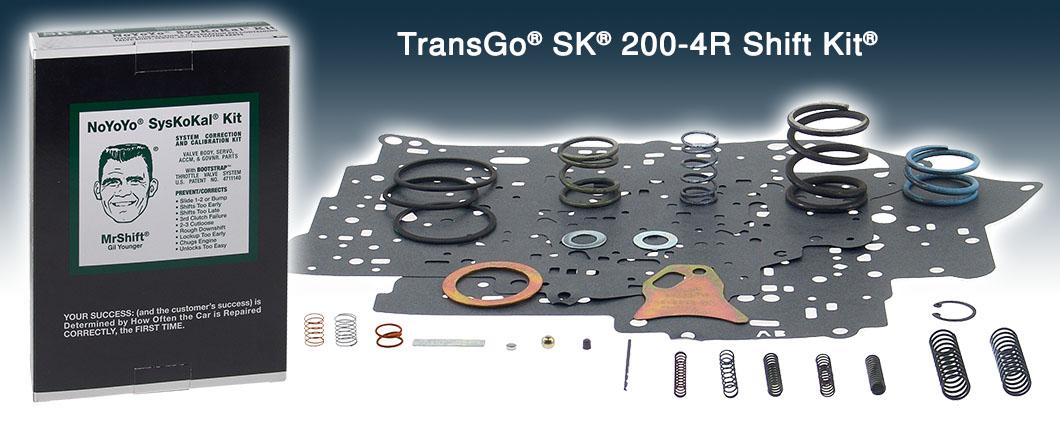 Sk 200 4r Shift Kit 200 4r Transgo Sk 200 4r 1981 Up Patc