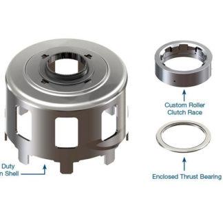 700R4 4L60E Smart Shell-Heavy Duty Reaction Shell Kit. Sonnax #77749-02K