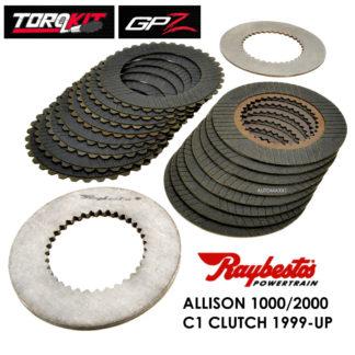 Raybestos #RTK-1001, Allison 1000 C1 Clutch GPZ TorqKit, 1999 On