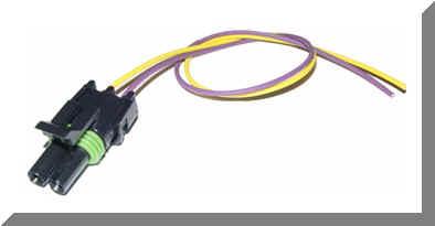 round type Gm speed sensor pigtail