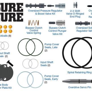 #SC-AODE-4R75E, Fits 1996 up 4R70E / AODE Transmissions. Sonnax Sure Cure Kit
