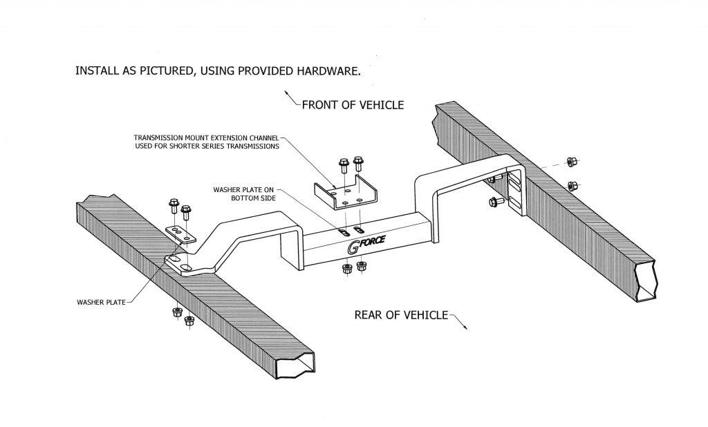 rcs 10 4l80 1982 2005 s10 swap crossmember to a 4l80e transmission patc. Black Bedroom Furniture Sets. Home Design Ideas