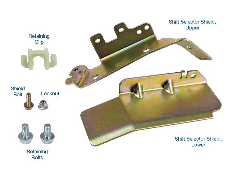 126760-01K Sonnax 6R140 Shift Selector Shield Kit