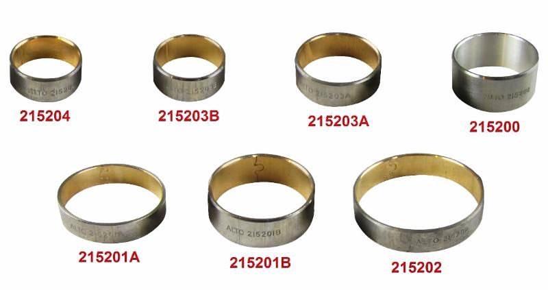 ZF8HP45 / ZF8HP55 / ZF8HP70 and 845RFE 7 Piece Bushing Kit  Alto part #  215625B