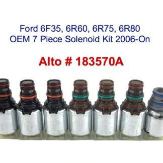 Ford 6R80 6R75 6R60 6F35 OEM 7 Piece Solenoid Kit 2006 On